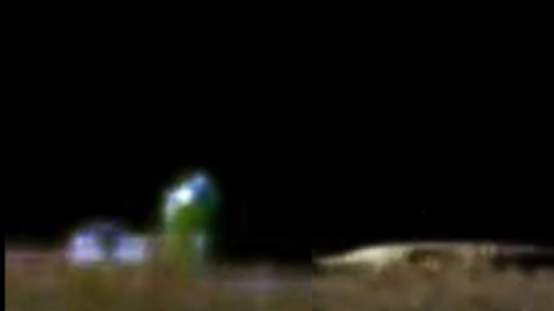 Moon Base And Flying Saucer Next To It Discovered During The Apollo Moon Missions