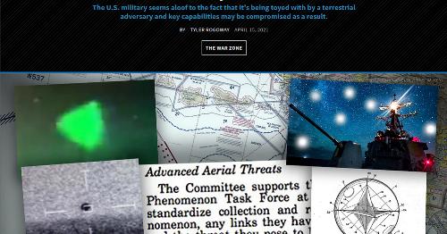 """Tesi: gli """"avvistamenti UFO"""" militari recenti sono una foglia di fico per non ammettere un'umiliazione molto terrestre"""
