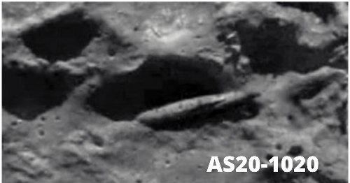 Abandoned Ancient Alien UFO/Ruins On The Moon