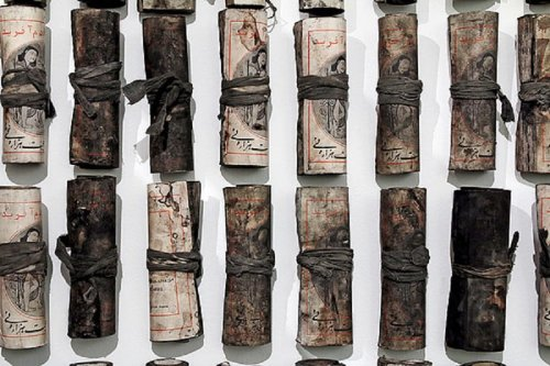 "Chohreh Feyzdjou - Post-apocalyptic Installation - ""Product of Chohreh Feyzdjou"""