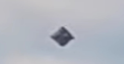 Accepted As Real - UFO Changes Shape In Flight