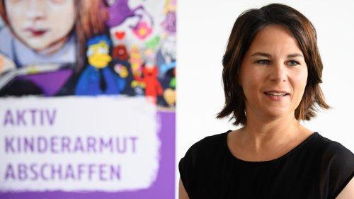 Grünen-Kanzlerkandidatin Baerbock will Grundsicherung für Kinder