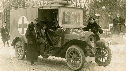 100 Jahre Deutsches Rotes Kreuz - In Bamberg 1921 gegründet