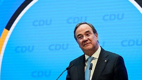 Laschet wird Kanzlerkandidat der Union - und dankt Söder