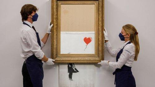 Banksy-Gemälde erzielt 18 Millionen Pfund : Geld siegt über Kunst   BR.de