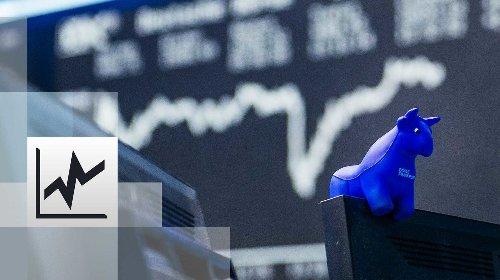 Börse: DAX bleibt auf Rekordniveau