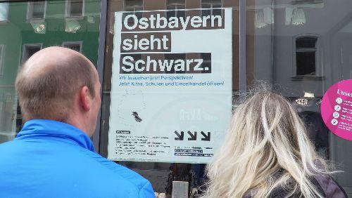"""""""Ostbayern sieht Schwarz"""": Konflikt zwischen Inzidenz und Handel"""