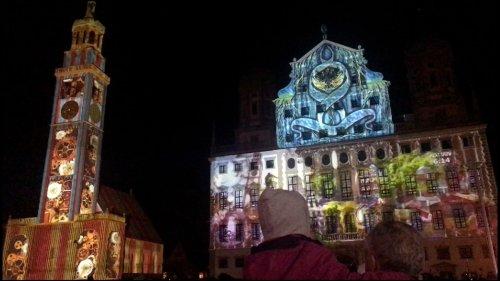 Light nights in Augsburg