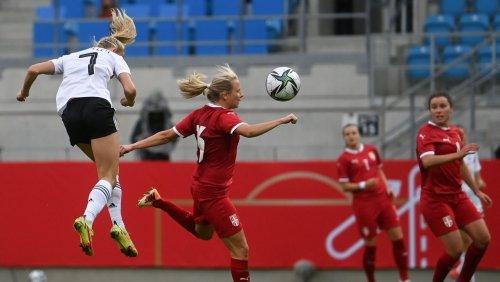 WM-Quali: Vier Schüller-Tore drehen Spiel gegen Serbien