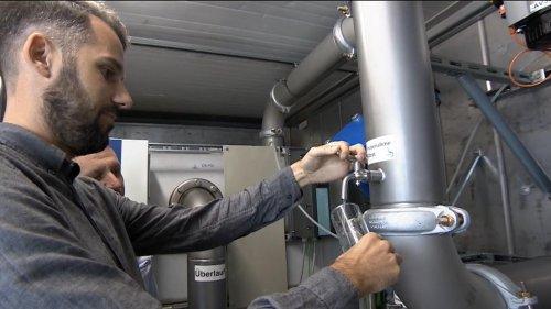 Hochwasserhilfe aus Franken : Mobile Trinkwasseranlage für Ahrweiler