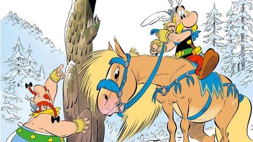 Erscheint am 21. Oktober: Der neue Asterix führt in den Schnee
