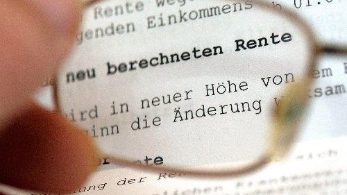 Das bleibt im Alter: Renteninformation lesen und Rente berechnen