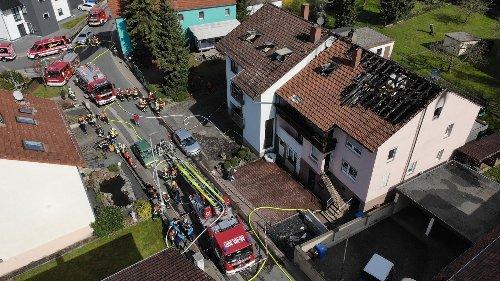 Bewohner retten Hasen aus brennendem Haus in Waldaschaff