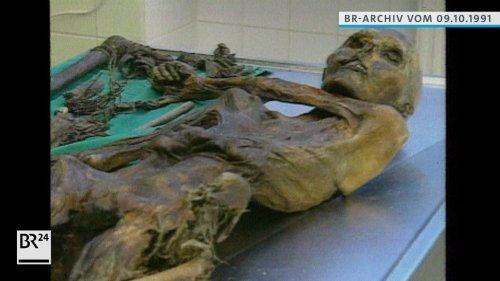 #BR24 Zeitreise: Weltsensation entdeckt: Gletschermumie Ötzi