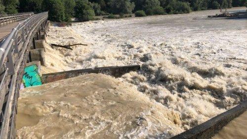Die Isar: Fluss ist in München gefährlicher als im Landkreis
