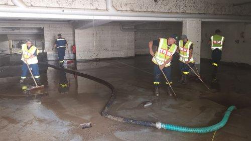 Unterfränkische Einsatzkräfte ziehen Bilanz nach Flutkatastrophe