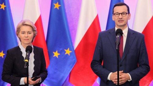 """Streit in Straßburg: Polen wirft EU """"Erpressung"""" vor"""