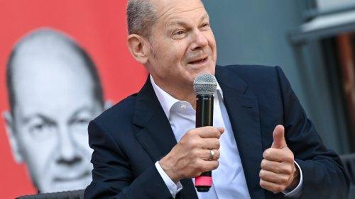 """Bundestagswahl-Show"": Olaf Scholz punktet mit privaten Details"