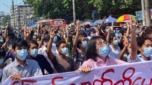 Myanmars Militärjunta erklärt Opposition zu Terrorgruppe