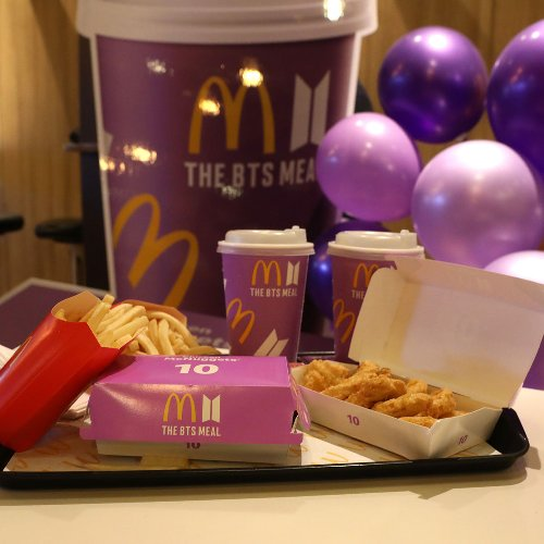 BTS gelingt verrückter McDonald's Rekord   BRAVO