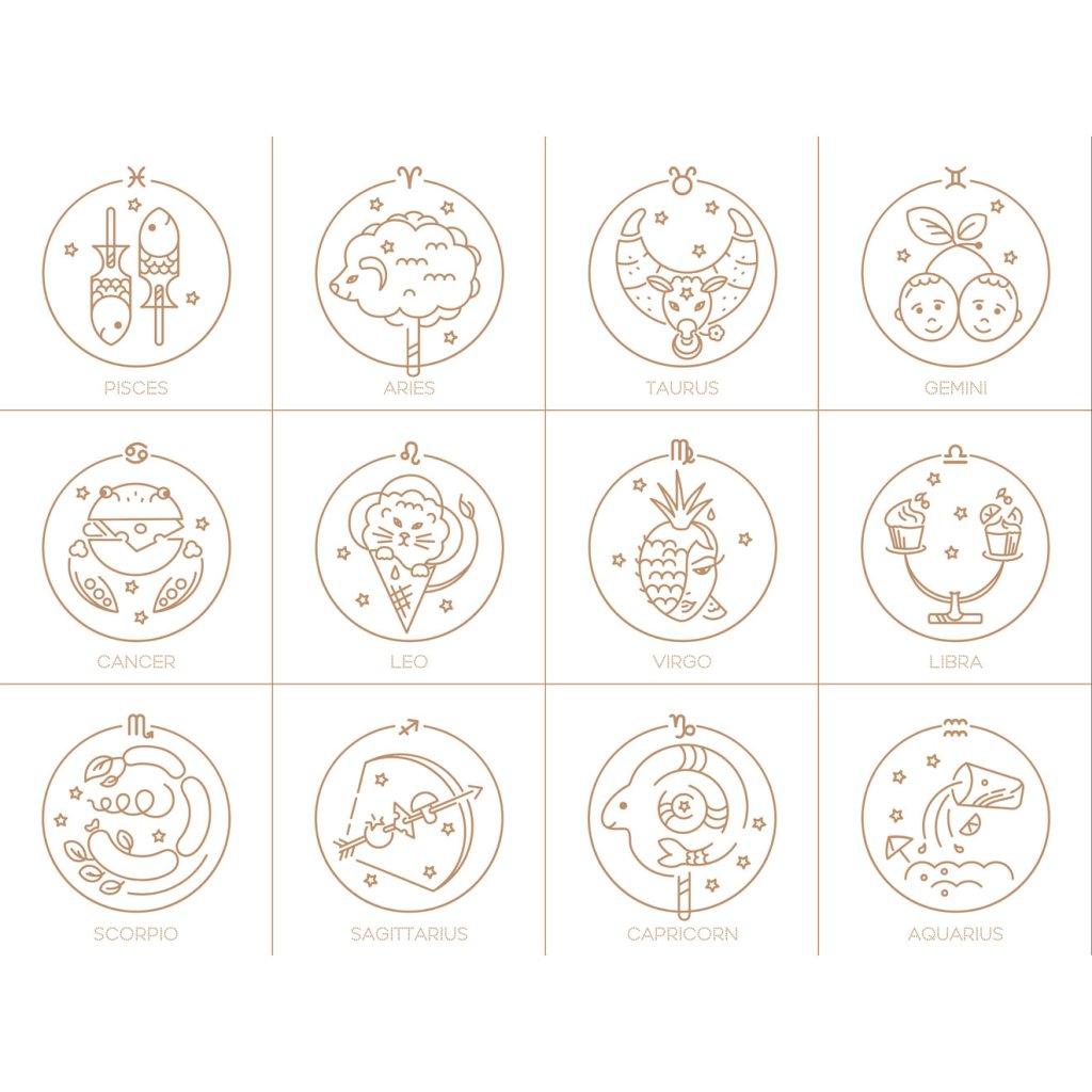 Horoskope - cover