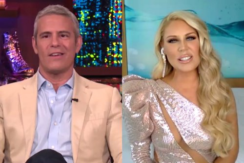 Gretchen Rossi Asks Andy Cohen About Questioning Her Relationship with Slade Smiley   Bravo TV Official Site