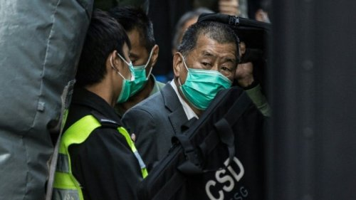 'Stand Tall': Hong Kong Media Tycoon Lai Writes Letter From Jail