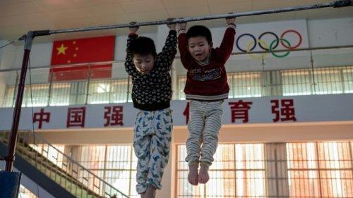 Inside China's Gymnastics Machine: The Children Training for Olympic Glory