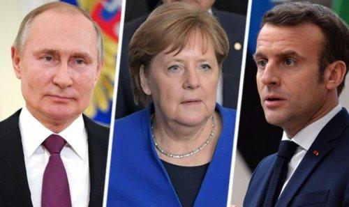 Merkel and Macron may invite Putin to the EU summit