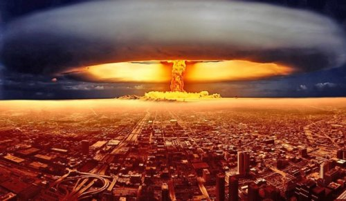 The U.S. announced the threat of an uncontrolled nuclear war