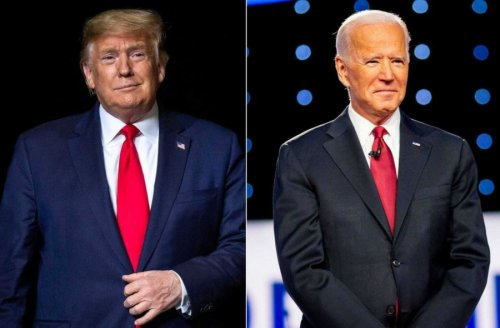 Trump said that he could knock out Biden in a few seconds