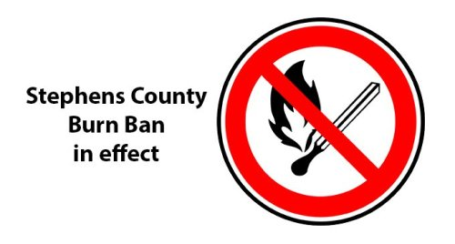 County Commissioners enact burn ban; high winds, thunderstorms in the forecast