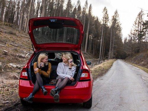 Roadtrips mit Übernachtungen in einem Skoda Fabia