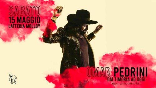 Brescia: Omar Pedrini alla Latteria Molloy
