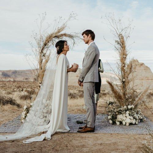A Magical Desert Wedding at Amangiri in Canyon Point, Utah