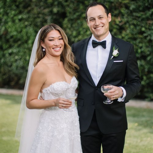 Exclusive: 'Glee' Star Jenna Ushkowitz and David Stanley Are Married!