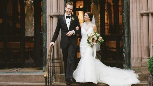 An Old-World New York City Wedding in Chelsea