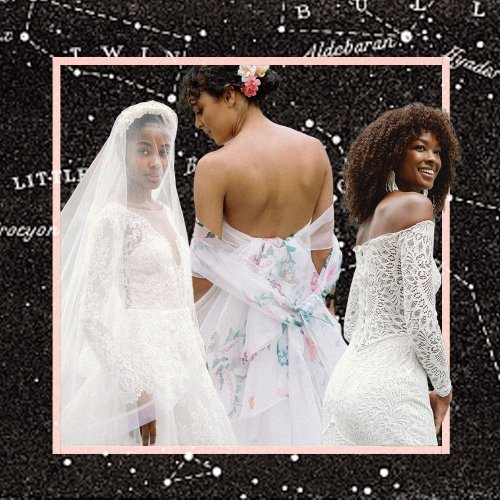 How to Choose Your Wedding Dress Based on Your Zodiac Sun Sign