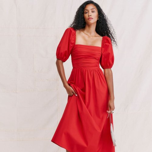 23 Radiant Red Bridal Party Dresses for Every Budget, Season, and Style