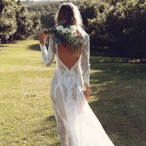 20 Country Wedding Dresses for a Rustic Wedding