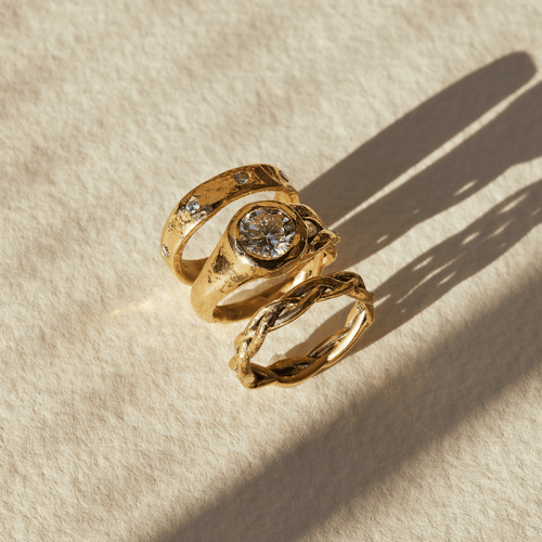 Pamela Love's Ceremonial Jewelry Is Not-Your-Average Engagement Ring Collection