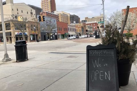Michigan to trim offices in Lansing, whose downtown struggles amid pandemic | Bridge Michigan
