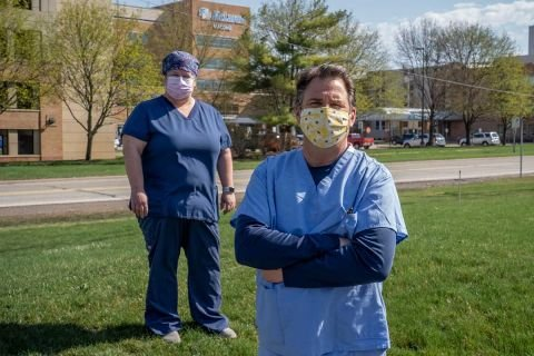 Workers weary, patients angry, as COVID fills Michigan hospitals — again | Bridge Michigan