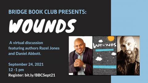 Watch Bridge Book Club discussion of collaborative memoir 'Wounds'