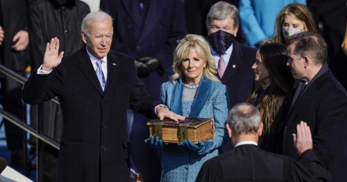The significance of 'Amazing Grace' at Biden's inauguration