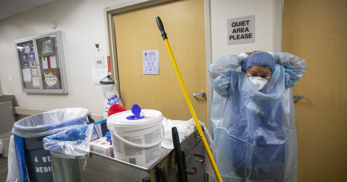 Coronavirus cases continue upswing in L.A. County amid concerns about Delta variant