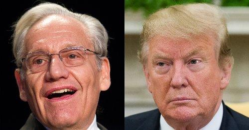 Trump 'not participating' in Bob Woodward's next book