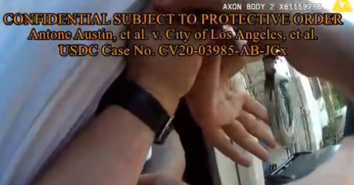LAPD video shows Black man arrested at his home during search for white suspect