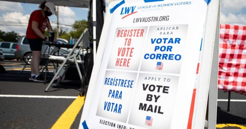 About A Million Texans Have Registered To Vote Online Since Court Ruling On Motor Voter Laws