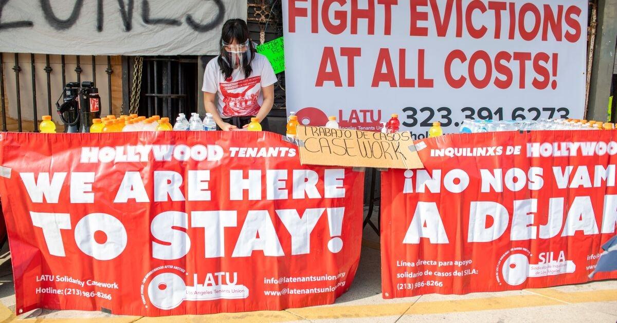 LA Tenants Are Falling Through The Cracks Of California's Eviction Ban